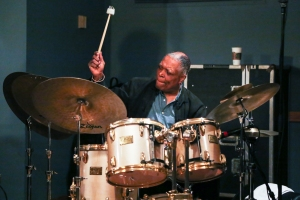 Billy Hart at the Regattabar. Photo by Kristopher Diaz.