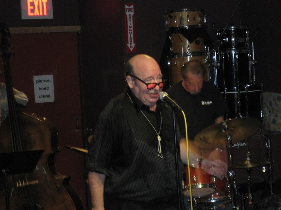 Bob Mover at the Lily Pad.