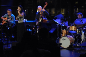 Trio da Paz with Maucha Adnet. Photo by Frank Stewart