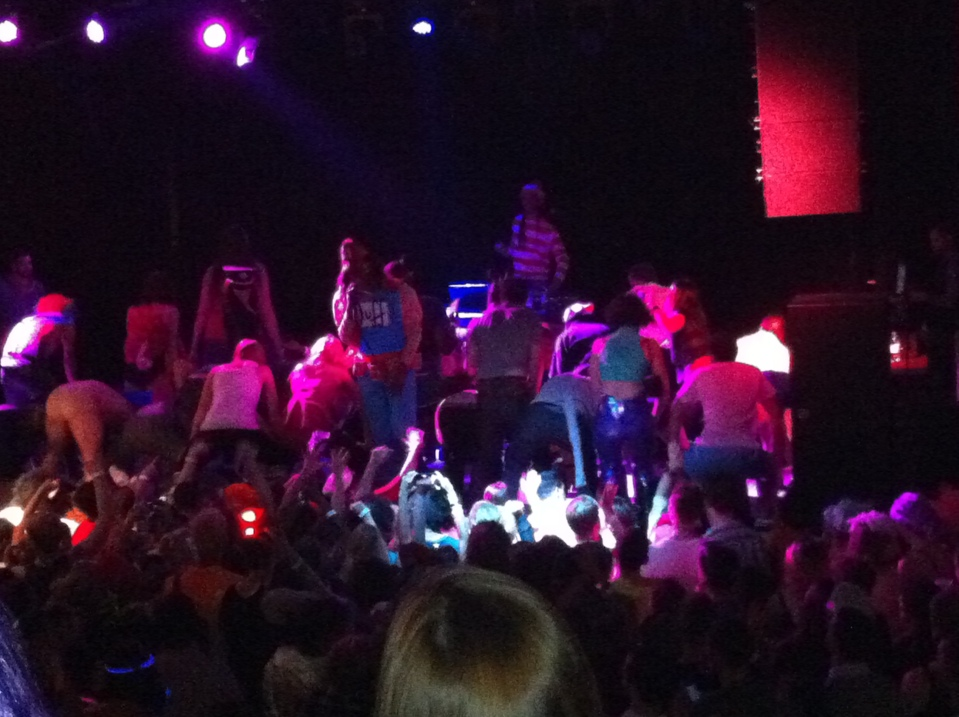 Big Freedia at the Sinclair Thursday night.