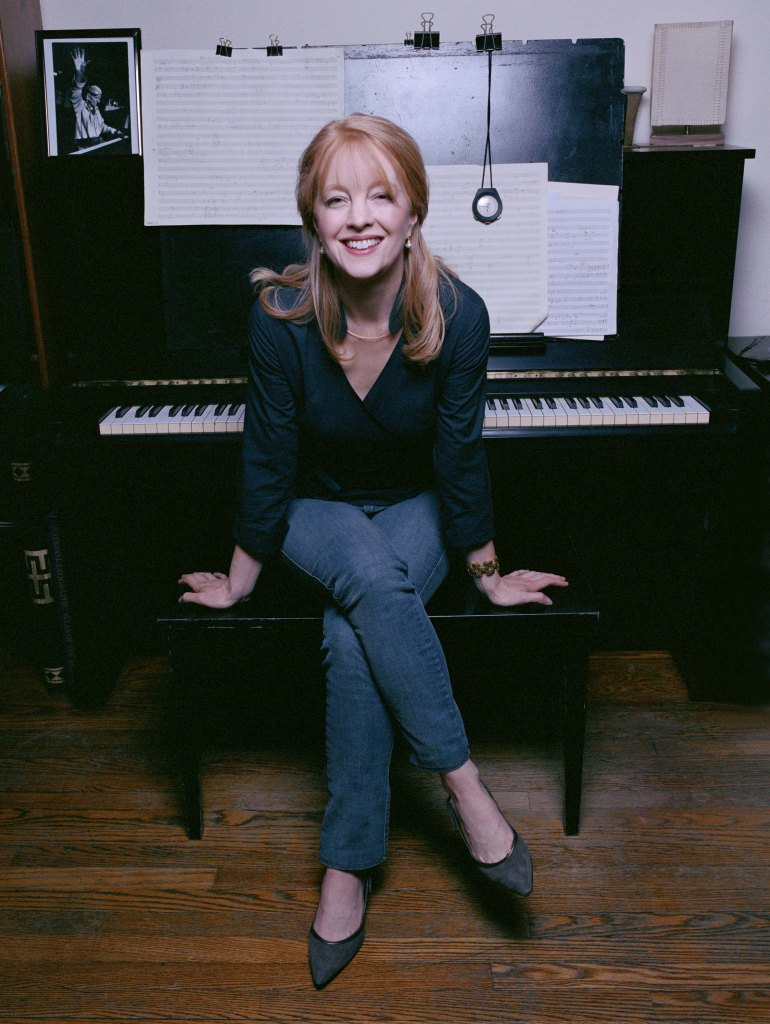 The Maria Schneider Jazz Orchestra plays the Berklee Performance Center on April 26. Photo by Jimmy and Dina Katz.