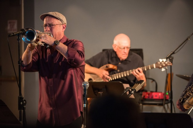 Dave Douglas and Steve Swallow, of Riverside